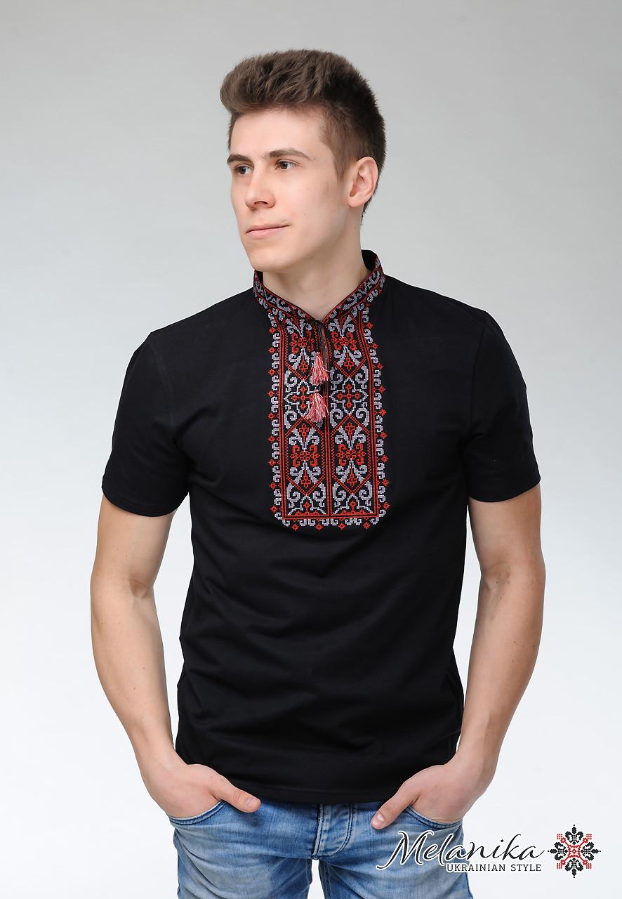 Чоловіча футболка Король Данило чорна з вишневим  купити недорого ... 8c72f187d0be1
