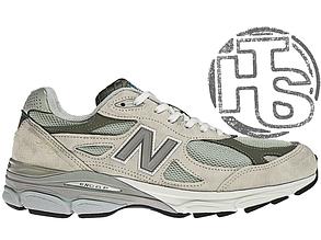 Мужские кроссовки New Balance 990 USA Gray M990GL3. Любимые кроссовки Джобса