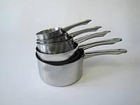 Набор ( 5 штук)  ковшики, ковш с металлической ручкой