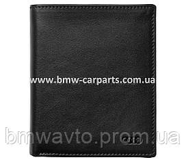 Мужской кожаный мини-кошелек Audi Men's Small Wallet Leather