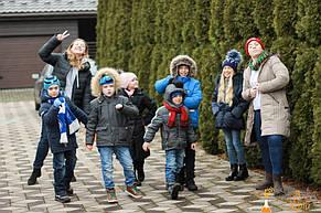 Квест для детей загородом в доме для Александры 7 лет  17.12.2017 2