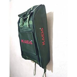 Рюкзак непромокаемый для рыбалки и охоты Kaida, 70л зеленый