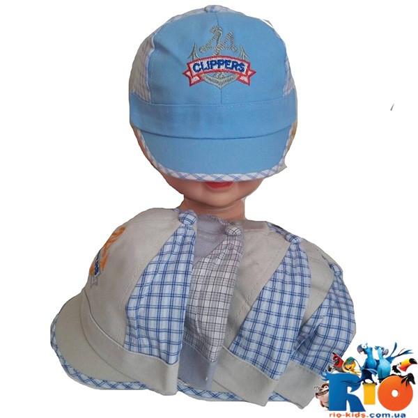 """Детская  летняя кепка """"Clippers"""",  для мальчика р-р 48 (5 ед в уп)"""