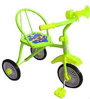 Велосипед детский трехколесный Tilly Trike T-311 салатовый