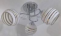Люстра потолочная на 3 лампочки YR-2229/3-ch