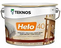 Лак уретан-алкидный TEKNOS HELO 40 яхтовый (полуглянцевый) 9 л