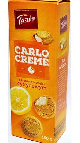 Печенье Tastino Carlo Creme czekoladowym 150 г, фото 2