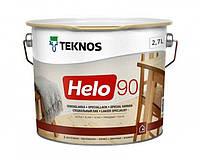 Лак уретан-алкидный TEKNOS HELO 90 яхтовый (высокоглянцевый) 2,7 л