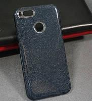 Силиконовая накладка Gliter Xiaomi Mi 5X /Mi A1 (Black)