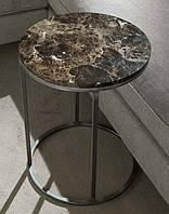 Стол прикроватный Sky Star, 450х450 мм. из натурального мрамора