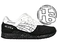 Мужские кроссовки Asics Gel Lyte III Oreo Pack White Black H6T1L-0101 6dfa3094d2a45