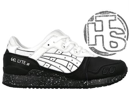 Мужские кроссовки Asics Gel Lyte III Oreo Pack White Black H6T1L-0101, фото 28bec898ea3