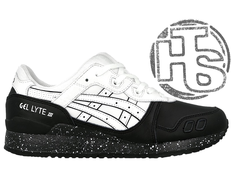 new products b3457 95c14 Мужские кроссовки Asics Gel Lyte III Oreo Pack White/Black H6T1L-0101