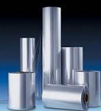 Термоусадочная ПВХ пленка 15 мкм*200/250/300/350/400/450 мм*750 м (ширина*длина)