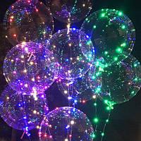 Светодиодный воздушный шар на палочке bobo