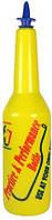 Бутылка для флейринга с над. Желтая