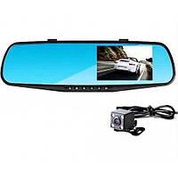 DVR A1 Зеркало с двумя камерами, Зеркало-видеорегистратор, Авторегистратор зеркало 2в1