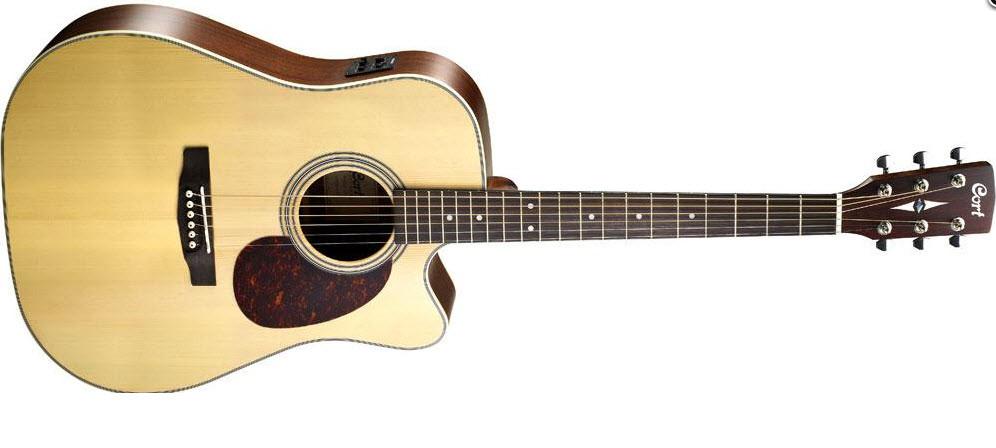 Электроакустическая гитара CORT MR600F (NAT)