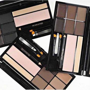 Палітра для брів Malva Cosmetics Brow Artistry Palette, М478