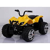 Детский электромобиль Т-736 YELLOW квадроцикл 12V7AH мотор 2*45W