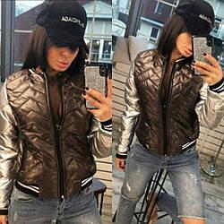 Модная куртка бомбер от производителя