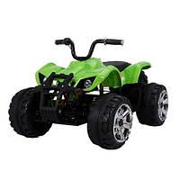 Детский электромобиль Т-736 GREEN квадроцикл 12V7AH мотор 2*45W