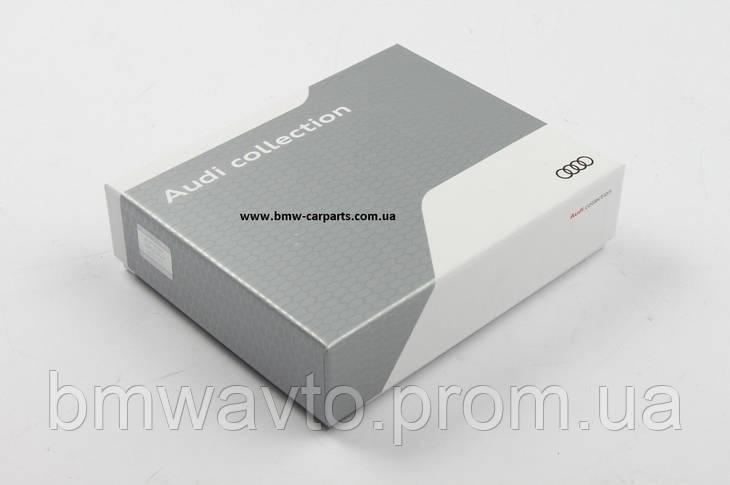 Мужской кожаный кошелек Audi Men's Wallet Leather, фото 2