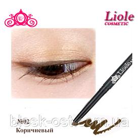 Карандаш для глаз водостойкий Lioele Real Waterproof Eyeliner Pencil