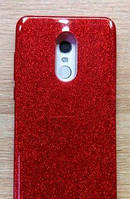 Силиконовая накладка Gliter для Xiaomi Note 4X (Red)