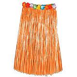 Гавайская юбка 60 см разные цвета., фото 3