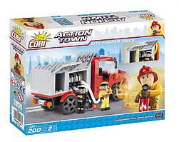 Конструктор Пожарная насосная машина COBI серия Action Town (COBI-1468)