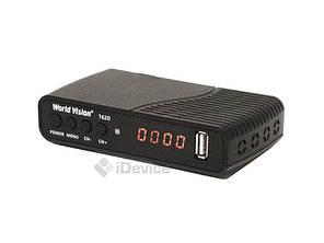 Тюнер Т2 World Vision T62D IPTV, 2 USB, фото 2