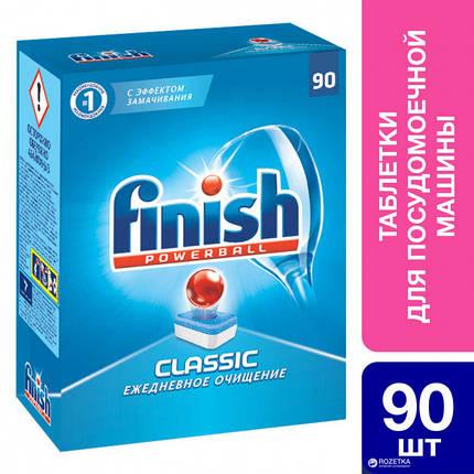 FINISH Таблетки для мытья посуды в посудомоющих машинах в таблетках 90 шт, фото 2