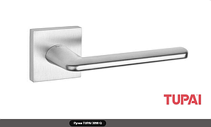 Дверная ручка  Tupai ELIPTICA 3098 Q хром матовый