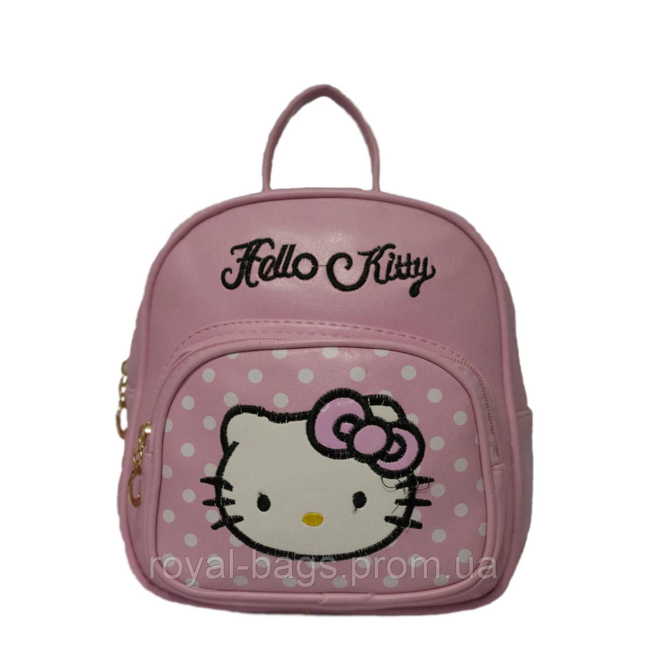 "Детский рюкзак ""Kitty"" 2 Цвета Розовый"
