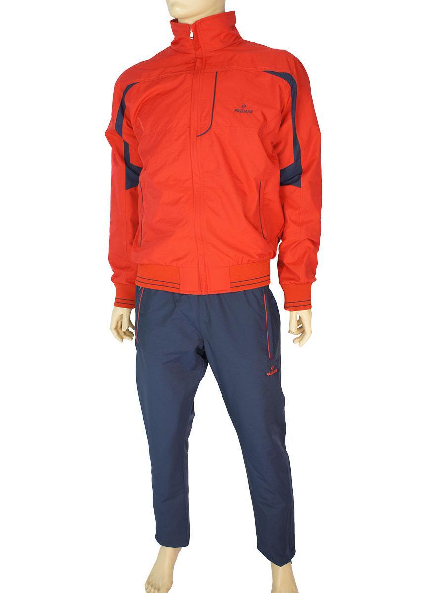 Чоловічий спортивний костюм Fabiani 15КЕ8E590218 red з плащової тканини червоного кольору