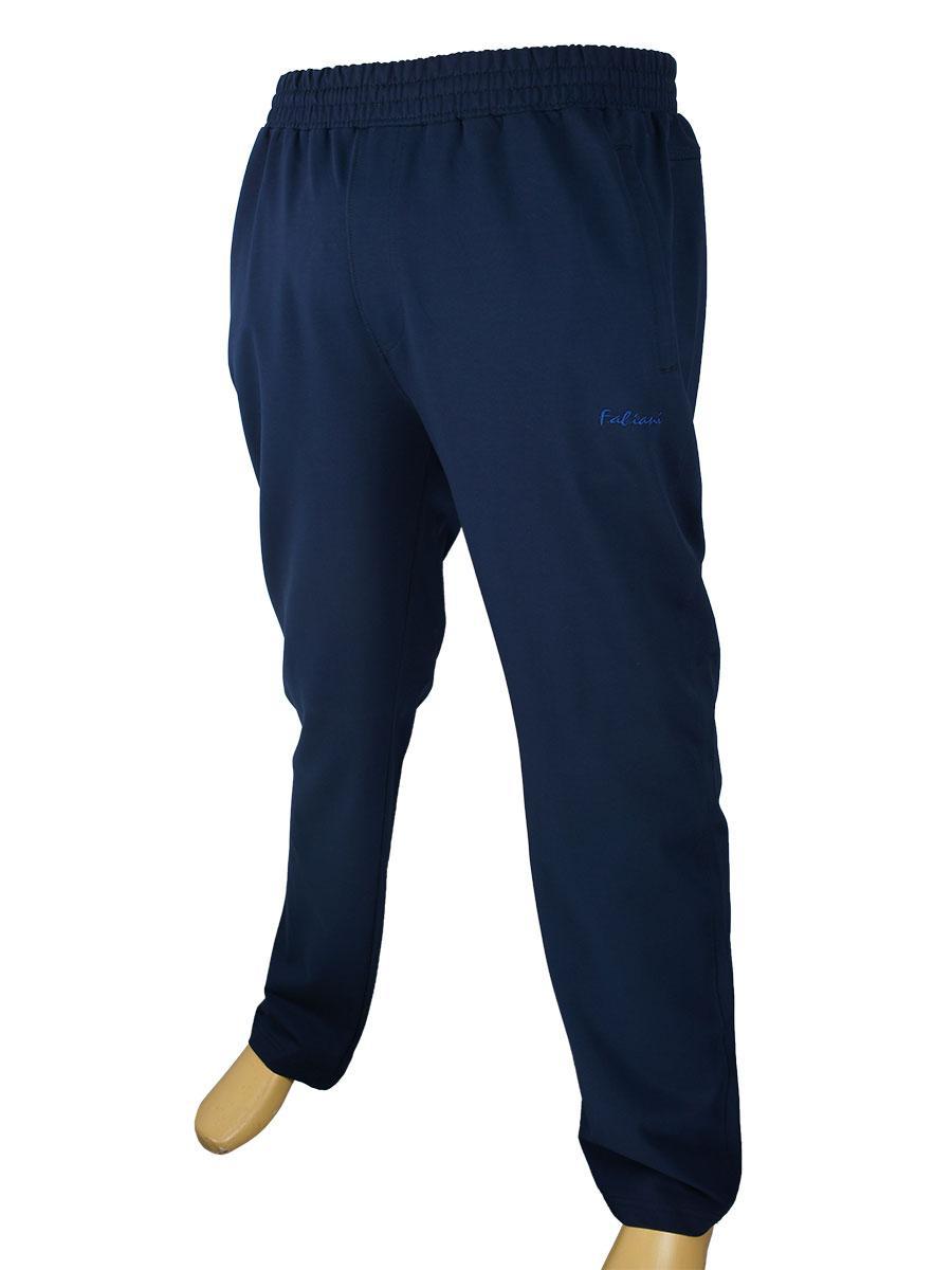 Чоловічі спортивні брюки Fabiani 590250 B синього кольору великого розміру