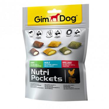 Подушечки NutriPockets для собак Микс 150 гр Gimdog