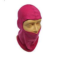 Балаклава Flees Classik Pink  безшовная (L 62-56)