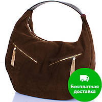 Женская дизайнерская замшевая сумка GALA GURIANOFF (ГАЛА ГУРЬЯНОВ) GG1300-22