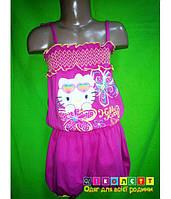 Ромпер трикотажный на девочку Hello Kitty