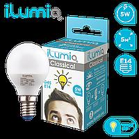 Лампа Ilumia 014 L-5-G45-E14-WW 500Лм, 5Вт, 3000К