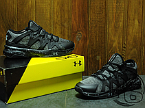 Мужские кроссовки Under Armour Charged Phenom 2 Black/Gray, фото 3
