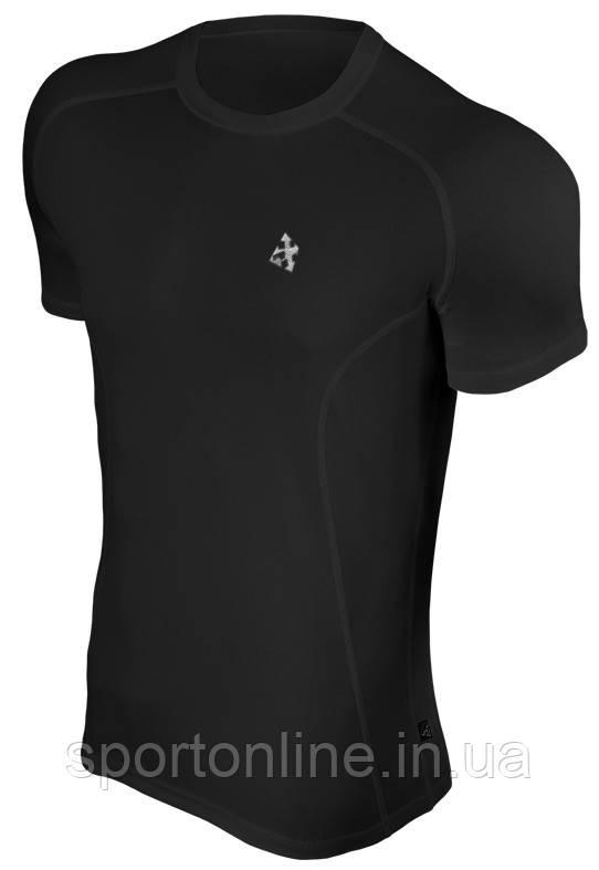 Спортивная футболка Radical Fury компрессионная чёрная