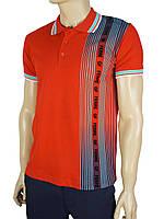 Чоловіча теніска GF FERRE PC-1368 червоного кольору