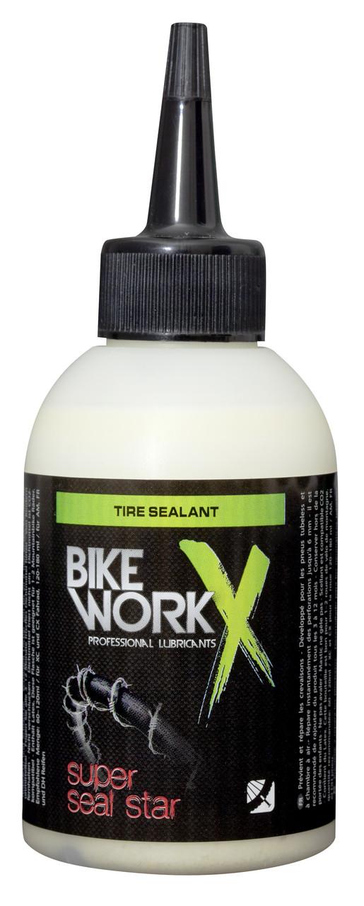 Герметик для бескамерных покрышек BikeWorkX Super Seal Star, 125 мл