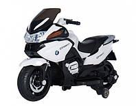 Детский электромобиль T-726 WHITE мотоцикл 6V7AH мотор 1*25W