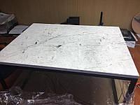 Стол кофейный Ivory, 900х900х400 мм. из натурального мрамора