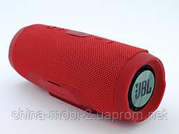 JBL Charge 3+ E3+ 20W копия, Bluetooth колонка с FM MP3, красная, фото 2