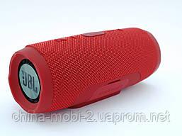 JBL Charge 3+ E3+ 20W копия, Bluetooth колонка с FM MP3, красная, фото 3